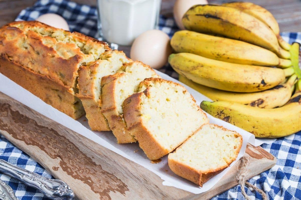Banana Cake Saus Naga untuk MPASI
